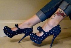 Love them!  And with the cuffed jeans...I am thinking a large white oxford.... <3