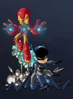 Ironman Batman by Przemo85 on DeviantArt