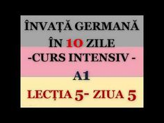Invata germana in 10 zile English Exercises, Germany, Youtube, Massage, Learn Languages, Deutsch, Youtubers, Youtube Movies