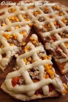 O Diário de Receitas Sem Lactose: Pizza - Massa Sem Lactose e Sem Ovos