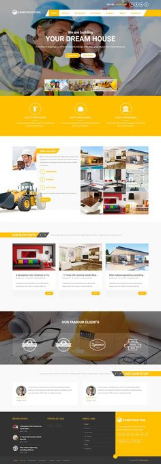 Architecture One Page Website Template Pinterest Template - Fresh virtual museum template design