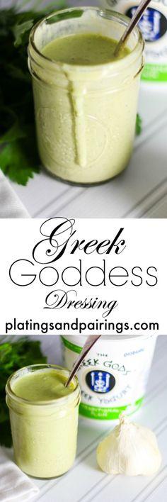 Greek Goddess Yogurt Salad Dressing