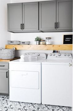 """Check out our site for additional relevant information on """"laundry room storage diy cabinets"""". It is an excellent location to learn more. Laundry Room Tile, Laundry Room Remodel, Laundry Room Cabinets, Laundry Decor, Farmhouse Laundry Room, Small Laundry Rooms, Laundry Room Organization, Laundry Room Design, Diy Cabinets"""