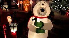 New Gemmy Animated Airblown Inflatable Christmas Shivering Polar Bear | eBay