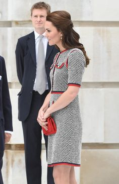 Kate Middleton Photos Photos - Catherine, Duchess of Cambridge during an official visit to the new V&A exhibition road quarter at Victoria & Albert Museum on June 29, 2017 in London, England.  The V&A Exhibition Road Quarter was designed by British Architect Amanda Levete. - The Duchess Of Cambridge Visits The New V&A Exhibition Road Quarter