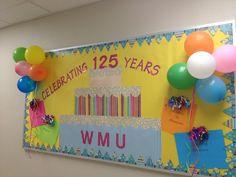 school anniversary bulletin boards | anniversaries