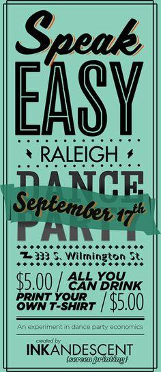Speak Easy Raleigh