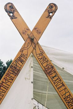 viking tent by mararie, via Flickr