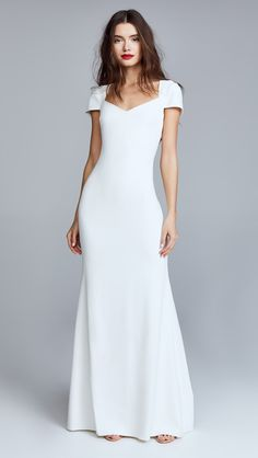 67 Simple Wedding Dresses Perfect for a Minimalist | Brides
