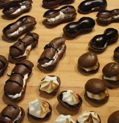 Devils Chocolate Eclairs Recipe