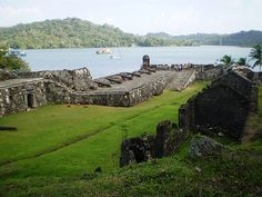 Spanish Fort - Portobello, Panama.... Sacked by Sir Henry Morgan's force of pirates in 1668