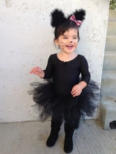 Toddler Halloween Costumes Ideas and Inspirations ⋆ BrassLook Toddler Cat Costume, Best Toddler Halloween Costumes, Cat Girl Costume, Cute Costumes For Kids, Kids Costumes Girls, Girl Costumes, Halloween Kids, Costume Ideas, Black Cat Costumes