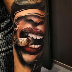 Gangster Tattoos, Biker Tattoos, Dope Tattoos, Badass Tattoos, Forearm Tattoos, Body Art Tattoos, Hand Tattoos, Girl Tattoos, Tattos