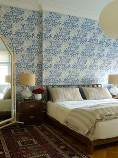 Brooklyn Brownstone - transitional - bedroom - new york - Reservoir