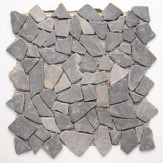 Solistone 10-Pack Indonesian Pebbles Balinese Nights Natural Stone Mosaic Indoor/Outdoor Floor Tile (Common: 12-in x 12-in; Actual: 12-in x 12-in)