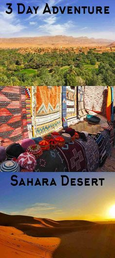 A 3 day adventure to the Sahara Desert – WhodoIdo: Ever dreamed about camping overnight in the Sahara Desert? Then take this 3 day/2 night Sahara tour from Marrakech, Morocco and visit Aït-Benhaddou, Todra Valley, Todra Gorge, Valley of the Roses and the Erg Chebbi dunes in the Sahara Desert! | #whodoido #adventure #saharadesert #morocco