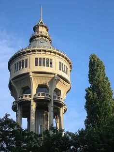 water tower . budapest