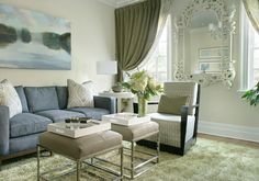 Diane Durocher Interiors an award winning interior design firm in Bergen County, New Jersey Lime Green Curtains, Gold Curtains, New Jersey, Drapery Panels, Outdoor Furniture Sets, Outdoor Decor, Design Firms, Great Rooms, Dining Table