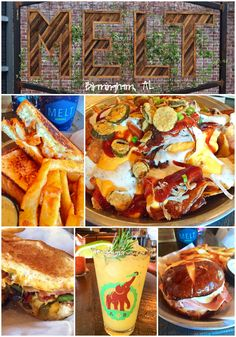 Melt Birmingham, AL - great place to eat in Avondale. Food truck turned restaurant. Great cocktails, appetizers and fun grilled cheese sandwiches. Make sure to save room for the Double Stuf Fried Oreos!