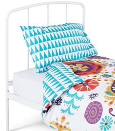 The Folk Multicolour bedset for Kids - Bright and bohemian prints. | Designed by #sarahpapworth for MADE.COM