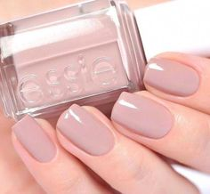 Essie Nail Color in Lady Like. a classy, elegant, and classic soft Mauve. Perfec… Essie Nail Color in Lady Like. a classy, elegant, and classic soft Mauve. Perfect for manicures and pedicures. Essie Nail Colors, Mauve Nails, Neutral Nails, Neutral Nail Polish, Elegant Nail Designs, Beautiful Nail Designs, How To Do Nails, Fun Nails, Nagellack Trends