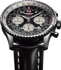 02e3e4bd2f711 Breitling Honors Astronauts with Limited Edition Navitimer Estilo  Masculino
