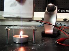 DIY Peltier Candle Powered Electric Generator