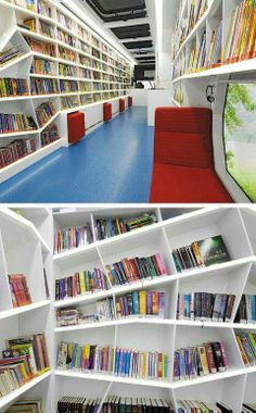 Bibliothèque mobile, Heilbronn, Allemagne