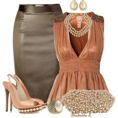 """Pearls"" by shakerhaallen on Polyvore"
