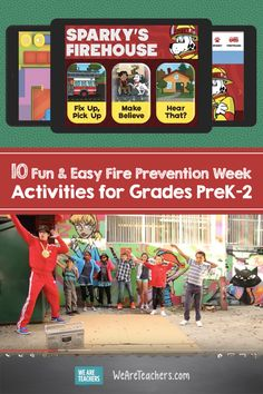10 Fun & Easy Fire Prevention Week Activities for Grades Each year we celebrate Fire Prevention Week, and this year it runs from October Here are some great activities to teach your students about fire prevention in the classroom. Teaching Second Grade, First Grade Teachers, Fire Safety Tips, Fire Prevention Week, We Are Teachers, School Themes, Disaster Preparedness, Holiday Activities, Educational Activities