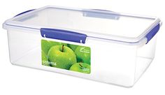Klip It 1870 Rectangular 236-Ounce Container, 2015 Amazon Top Rated Food Storage & Organization Sets #Kitchen