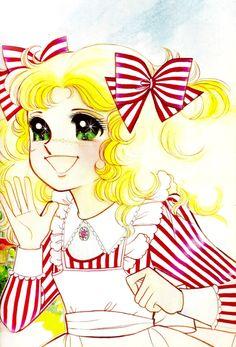 ) es un manga creado por la escritora Kyōko Mizuki , uno de los seudónimos de Keiko N. Candy Images, Candy Pictures, Old Anime, Manga Anime, Candy Wallpaper, Betty Boop, Candy Drawing, Dulce Candy, Hello Kitty Wallpaper