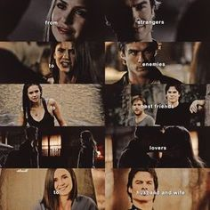 """3,056 Likes, 24 Comments - — the vampire diaries (@delenaahh) on Instagram: """"[delena + development 