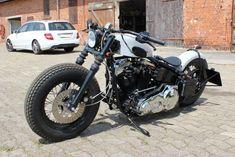 Harley Davidson Softail EVO Bobber / Old School Look / Penzl Auspuff | eBay #harleydavidsonbobbersoldschool