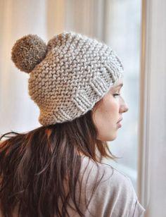MES FAVORIS TRICOT-CROCHET: Modèle tricot gratuit : Le bonnet Minute