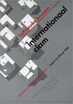 Wim Crouwel, Het Nieuwe Bouwen, Internationaal, CIAM Typography