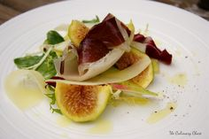 The Culinary Chase: Duck Prosciutto Salad with Fresh Figs and Manchego Cheese
