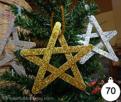 christmas star preschool craft | ... collection of 70+ of our friends Christmas arts and crafts for kids