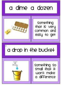 Explanation of common Idioms.