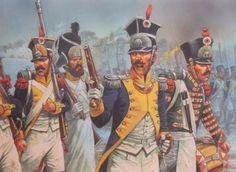 Polish Vistula Legion advancing into battle.