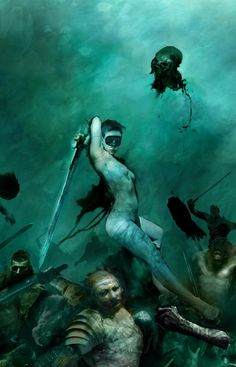 The Sci-Fi and Fantasy Art of Christopher Shy | Digital Artist