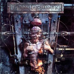 Iron Maiden - The X Factor - 1995 Album Cover