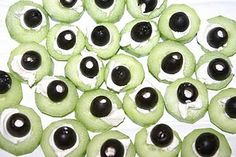 Yum! The cutest little alien eyeballs.