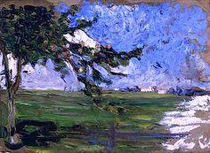 Wassily Kandinsky - Landscape with Apple Tree, 1906