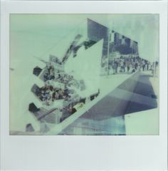 A sunny day one at OFFF 2013, triple exposure Polaroid Spectra #nophotoshop #analog