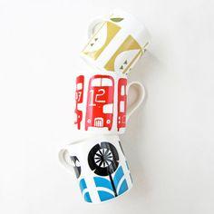 biroRobot Mugs