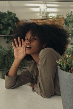 10 Modern Afro Hairstyles for Women Selfie Foto, Curly Hair Styles, Natural Hair Styles, Catty Noir, Black Girl Aesthetic, Dark Skin Beauty, Black Beauty, Beautiful Black Girl, Poses References