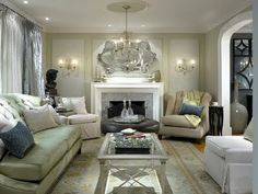 HGTV Candice Olson Living Rooms | Candice Olson Hgtv Design Portfolio  Portal Opening On The Right