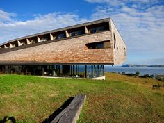 The striking Tierra Chiloé hotel. Follow the link to learn more about Chiloé Island, Chile!