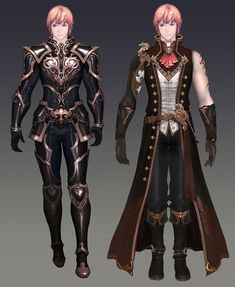 Costume Designs - Game: Aion